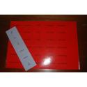 Livrets rouges de conjugaison