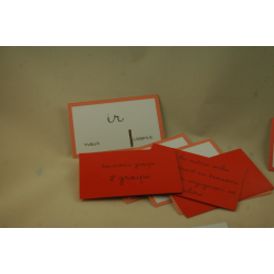 Conjugaison - Tri de verbe finition tout prêt - Esprit Montessori