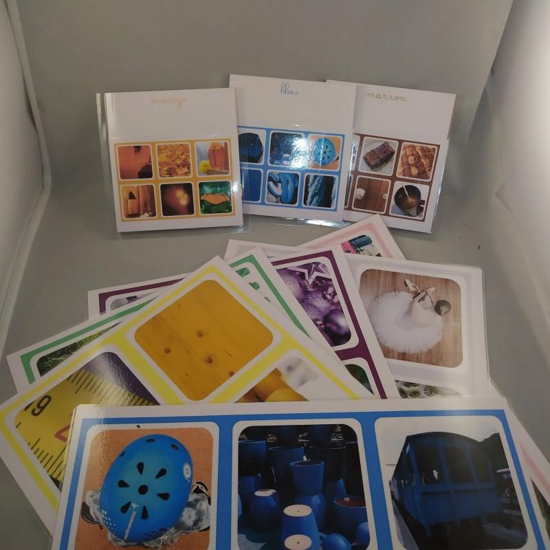 Langage Oral - Grandes images classifiées - Couleurs 2 - Esprit Montessori